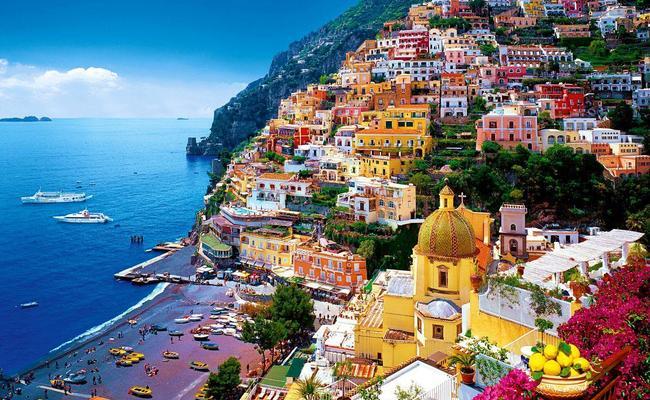 đất nước Ý - Amalfi