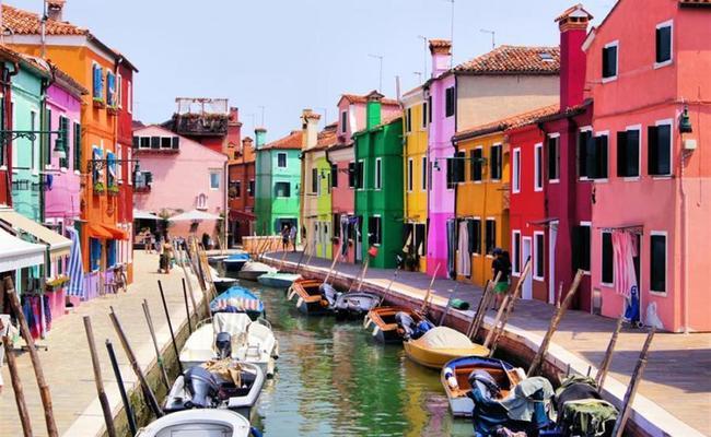 đất nước Ý - Burano