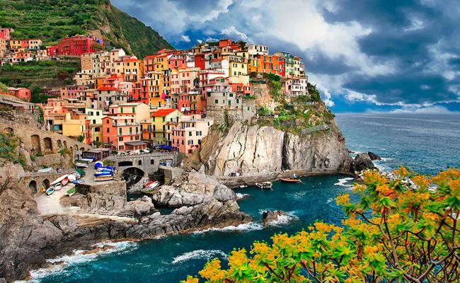 đất nước Ý - Cinque Terre