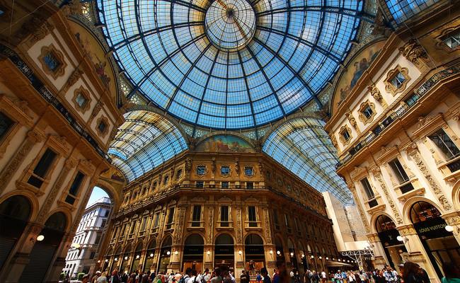 đất nước Ý - Galleria Vittorio Emanuele II