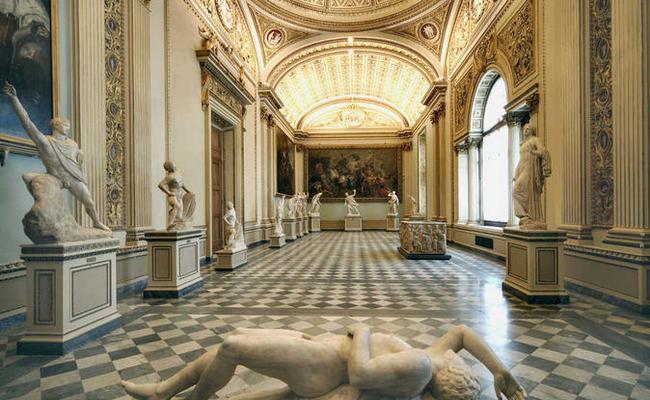 đất nước Ý - Bảo tàng Uffizi