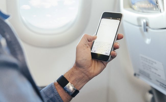 kinh nghiệm đi máy bay quốc tế - điện thoại thông minh