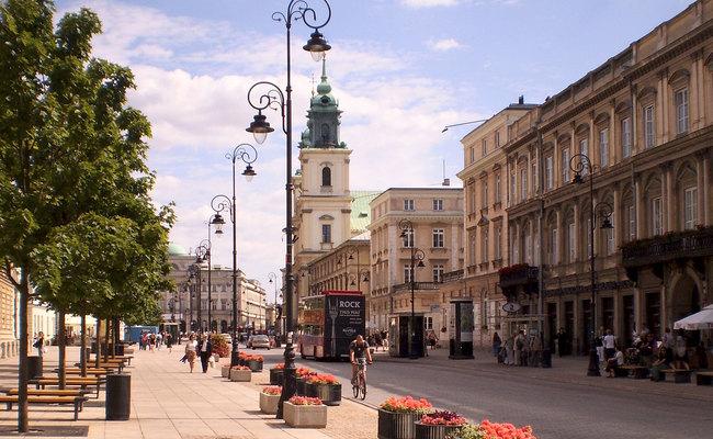 kinh nghiệm du lịch Warsaw - phố cổ