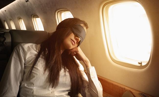 ngủ ngon trên máy bay