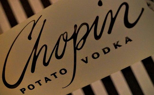 quà lưu niệm Ba Lan - vodka Chopin