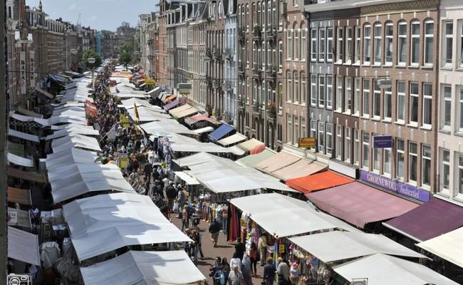 thành phố Amsterdam - Chợ Albert Cuyp