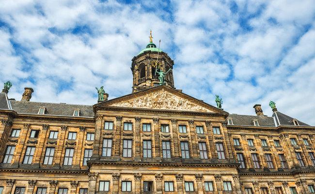thành phố Amsterdam - cung điện Hoàng Gia