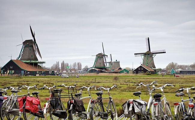thành phố Amsterdam - Làng Zaanse Schans