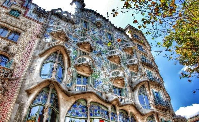 thành phố barcelona - casa battló