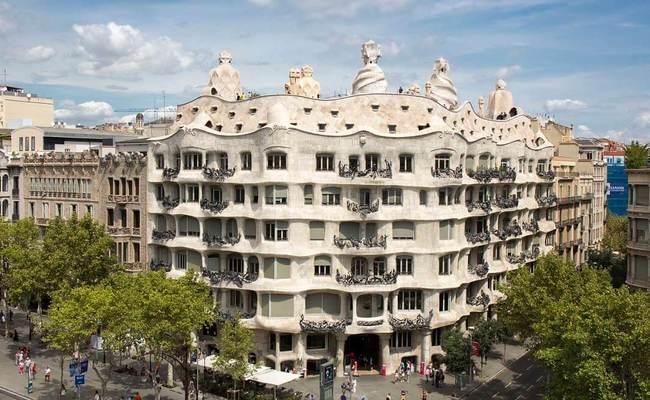 thành phố barcelona - Casa Mila