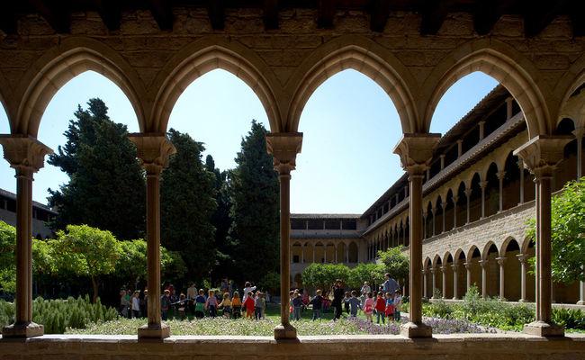 thành phố barcelona - Monestir de Pedralbes