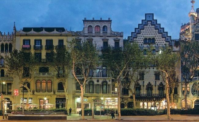 thành phố barcelona -Quadrat d'Or
