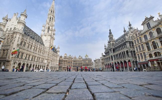thành phố bruxelles bỉ - grote markt