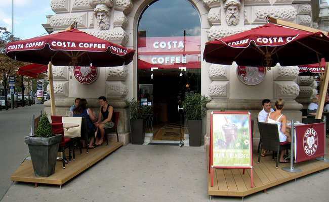 thành phố Budapest - Costa Coffee
