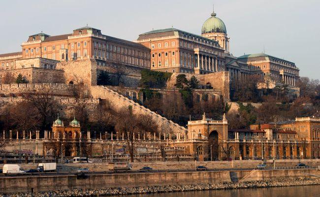 thành phố Budapest - đồi lâu đài Buda