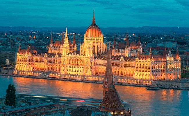 thành phố Budapest - nhà quốc hội