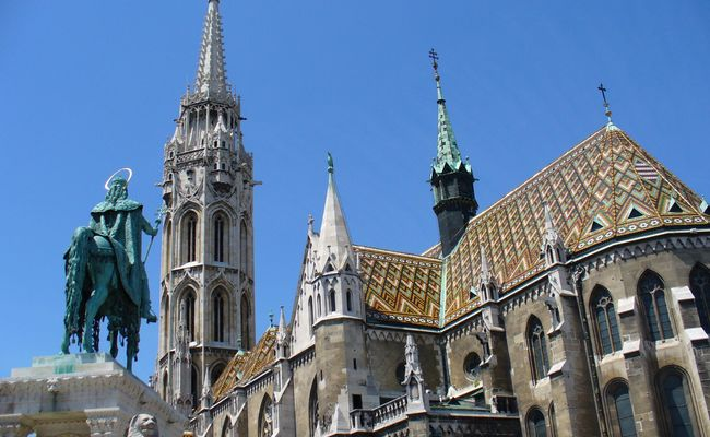 thành phố Budapest - nhà thờ Matthias