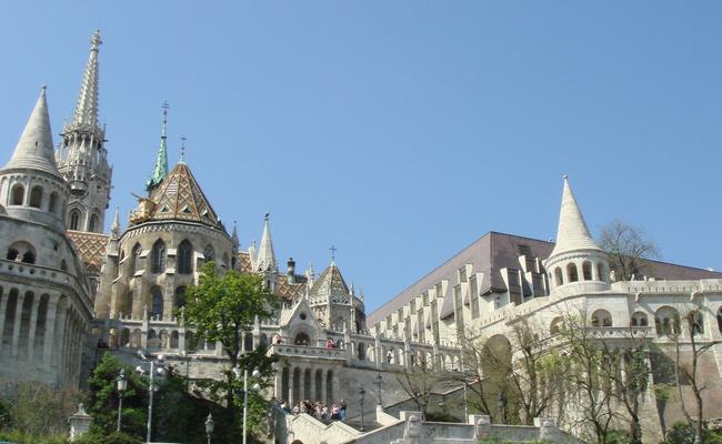 thành phố Budapest - pháo đài Fisherman