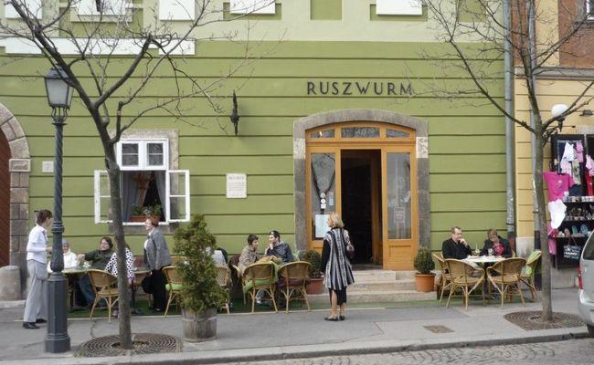 thành phố Budapest - quán Ruszwurm