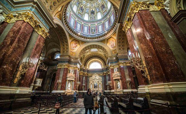 thành phố Budapest - nhà thờ St. Stephen
