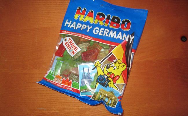 đi đức nên mua gì về làm quà - kẹo dẻo gummy bear