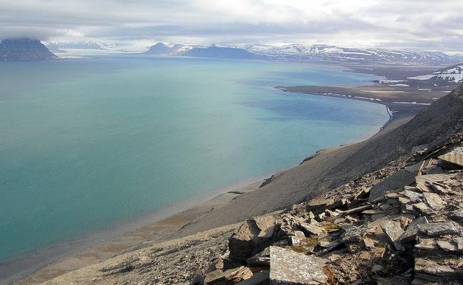 du lịch bắc âu tự túc - Nordre Isfjorden