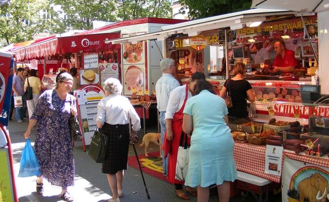 du lịch salzburg tự túc - chợ shranne