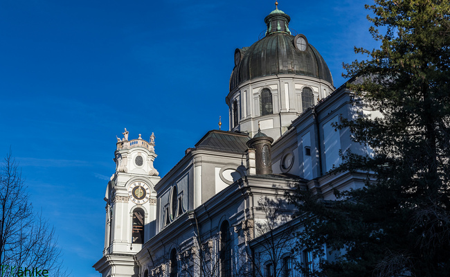 du lịch salzburg tự túc - Kollegienkirche