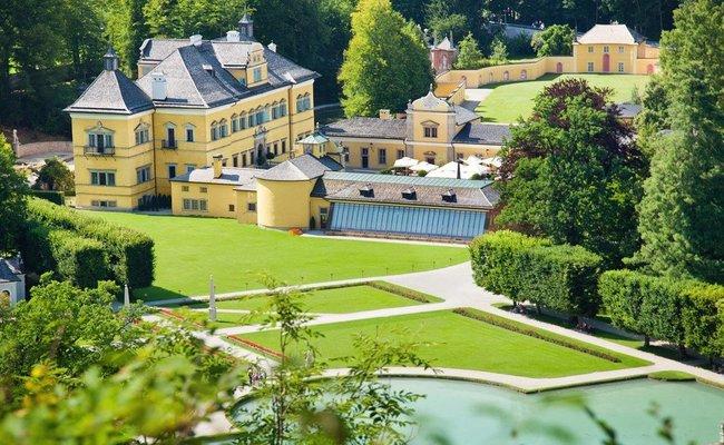 du lịch salzburg tự túc - lâu đài hellbrunn
