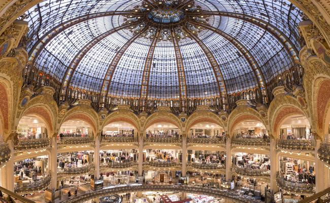 kinh nghiệm mua sắm ở paris - galeries lafayette