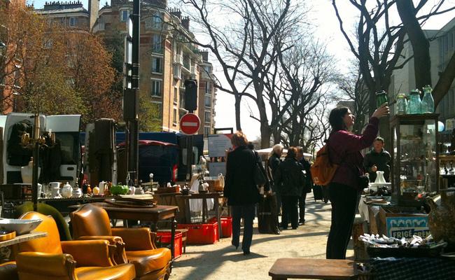 kinh nghiệm mua sắm ở paris - porte de vanves