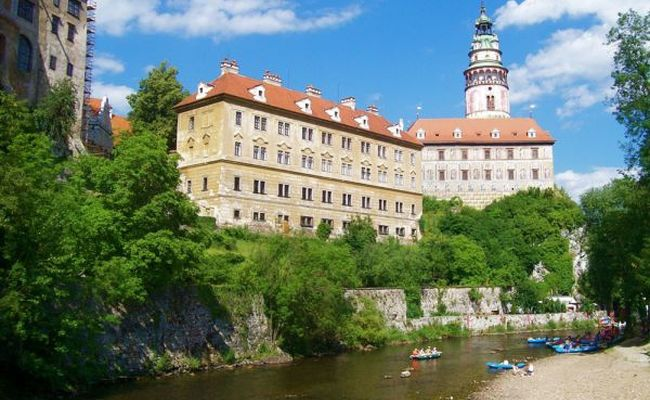 những điểm du lịch ở séc - lâu đài Český Krumlov