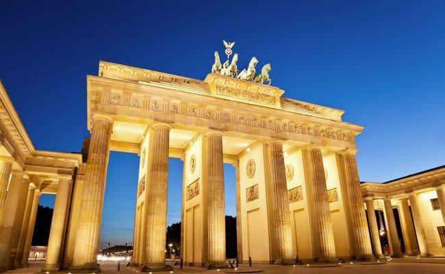 nước đức có gì nổi tiếng - cổng brandenburg