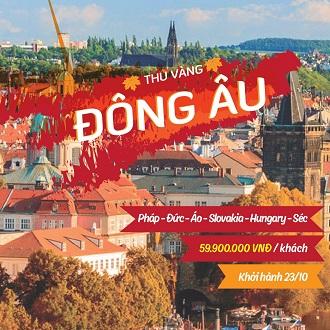 Tour du lịch Châu Âu giá rẻ tháng 10