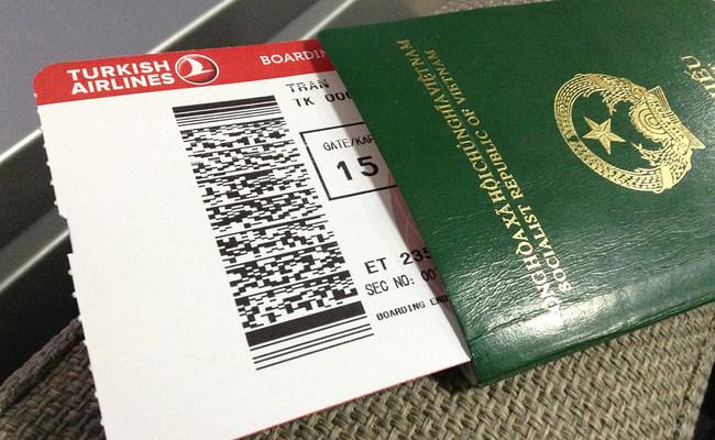 thủ tục xin visa đi ý - hộ chiếu