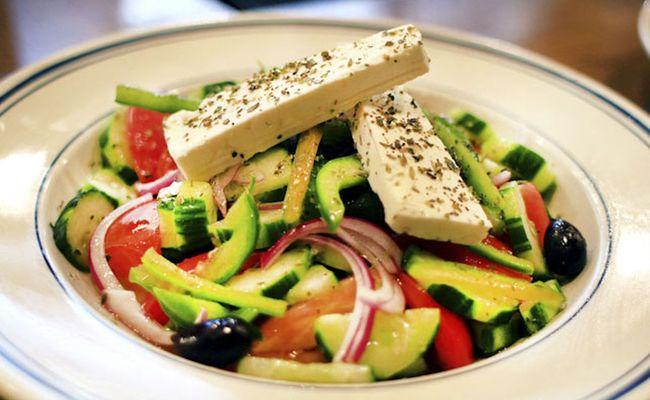 các nước châu âu - salad Hy Lạp