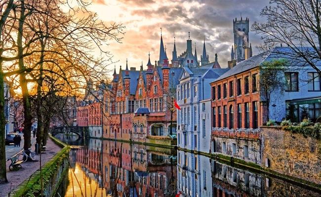 thành phố đẹp tại Châu Âu