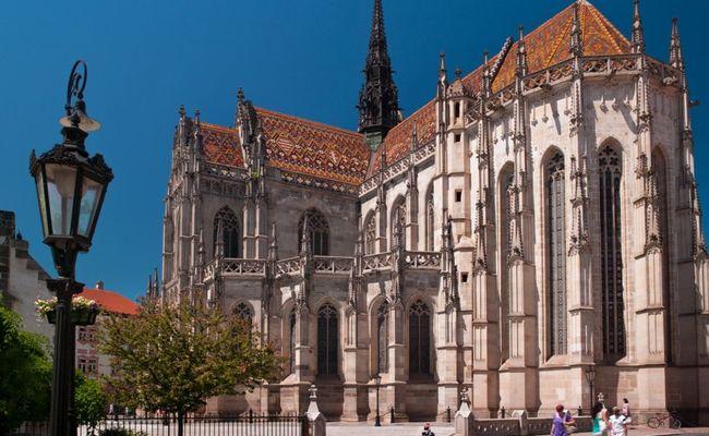 du lịch kosice - nhà thờ st.elisabeth