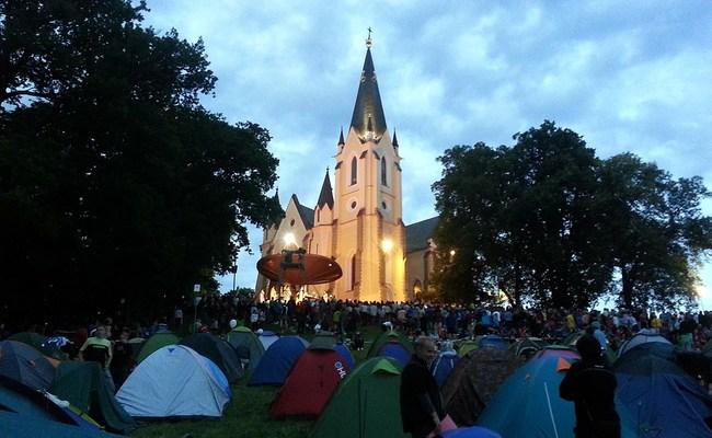 du lịch levoca - nhà thờ Mariánska Hora