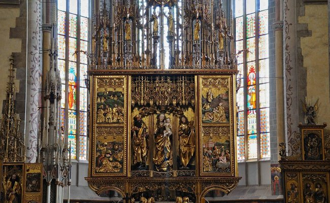 du lịch levoca - nhà thờ thánh Jacob