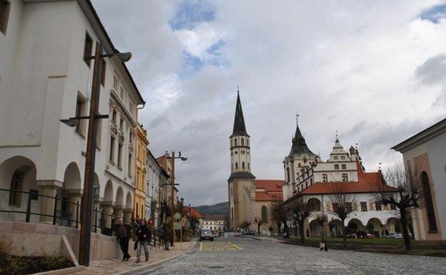 du lịch levoca - quảng trường trung tâm