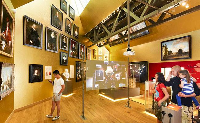 Một bảo tàng dễ dàng để tham quan