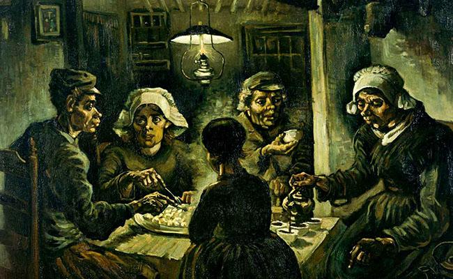 Những người ăn khoai tây 1885