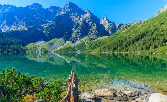dãy núi tatras- hồ morskie oko