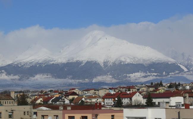 dãy núi tatras - thành phố poprad