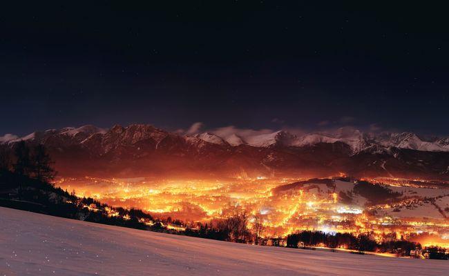 dãy núi tatras - thành phố zakopane