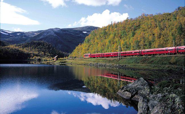 du lịch bergen - đường sắt