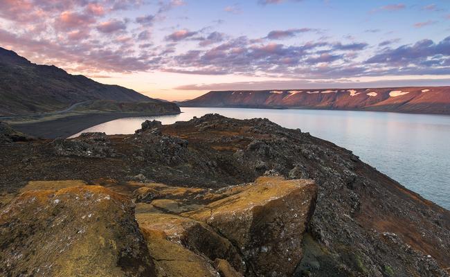 du lịch keflavik - hồ Kleifarvatn
