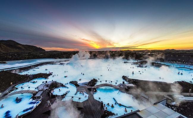 du lịch reykjavik - blue langoon