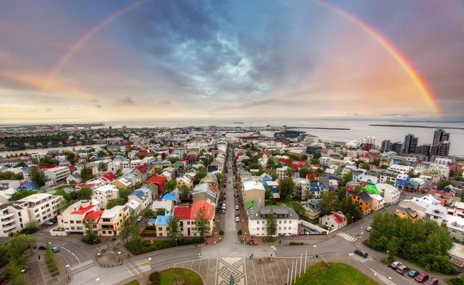 du lịch reykjavik - mùa hè